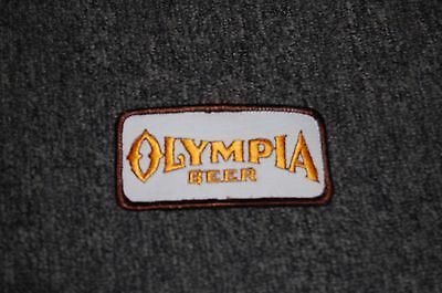 Vintage Olympia  Beer Embroidered  Patch  Shirt Jacket Hat