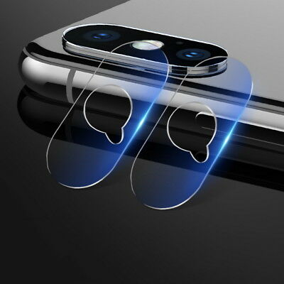 2 Sets Back Camera Lens Protector Circle Cover Guard For Apple iPhone XsMax XS X