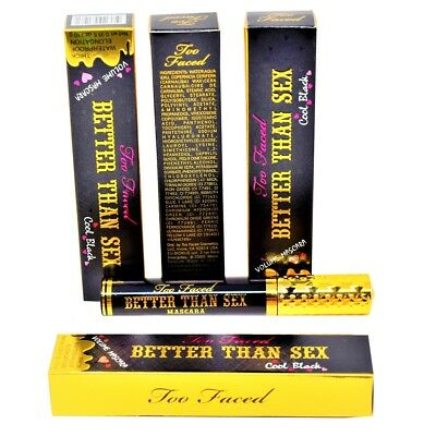 Too Faced (Better Than Sex) Volume Mascara Waterproof Full Size ~ Cool Black