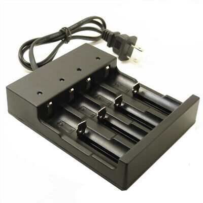 4 Slot Smart Battery Charger For 26650/22650/18500/18650/18350/16340/14500  US