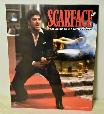 Scarface Tony Montana 16x20 Poster Say Hello to my Little Friend