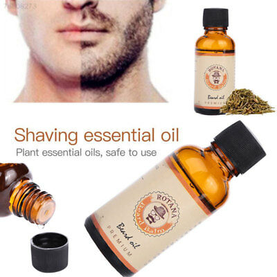 8F68 Men's Natural Shave Beard Mustache Purifying Essential Oils Facial 30Ml