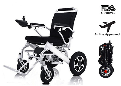 Lightweight Electric Wheelchair Mobility Aid Motorized Electric Power Wheelchair