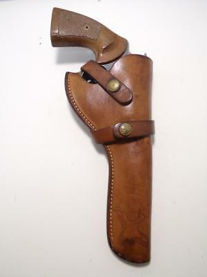 """H7 BRAUER Gun Holster for COLT Official Police & Army Special 38 6"""" New Service"""