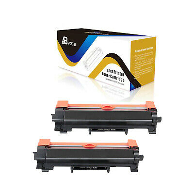 ABvolts Compatible Toner Cartridge For Brother TN730 No Chip DCP-L2550DW -2Pcs