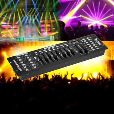 192 Channels DMX512 DJ Stage Light Controller Console Operator Party Club X6I9