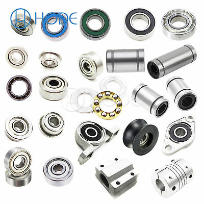 623ZZ KFL08 LM12LUU 3-12mm Linear Rhombic Motion Ball Bearing Slide Bushing UK