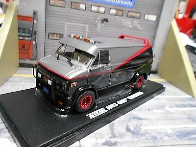 GMC B.A. Van A-Team Movie Vandura 1983 TV Serie Filmauto A Greenlight 1:43