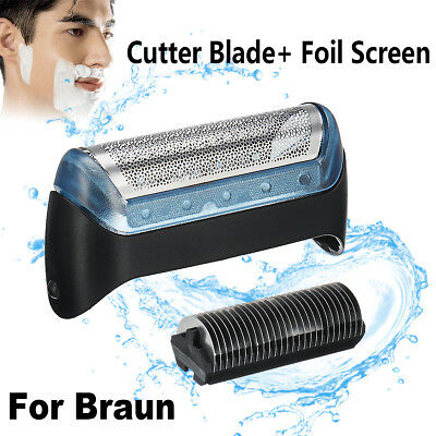 Shaver/Razor Foil & Cutter Blade Replacement For BRAUN 10B/20B/20S