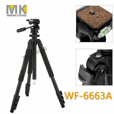 Weifeng Tripod WF-6663A Pro Stand Quick Release for Canon Nikon Camera DSLR