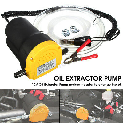Car/Motorcycle 12V Oil Fuel Diesel Extractor Scavenge Transfer Pump Electric