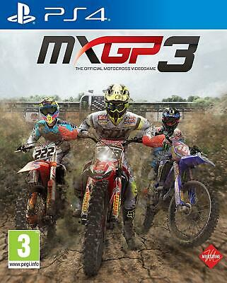 MXGP 3 The Official Motocross Video Game PS4 Brand New Sealed