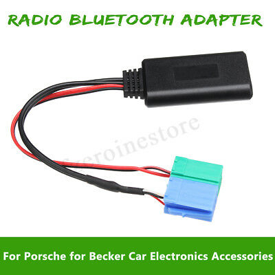 Car Radio Adapter Aux in Cable Bluetooth For Iphone iPod Mp3 Porsche Becker