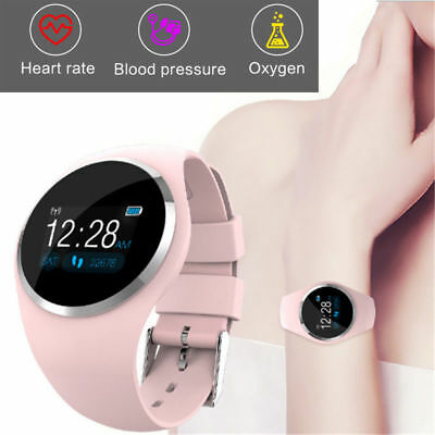 UK Women's Lady Bluetooth Smart Watch Phone Mate For Android IOS iPhone Samsung