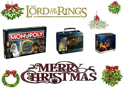 Lord of The Rings - Trivial Pursuit / Monopoly / TT Tin - 2019/2020 XMAS Gift