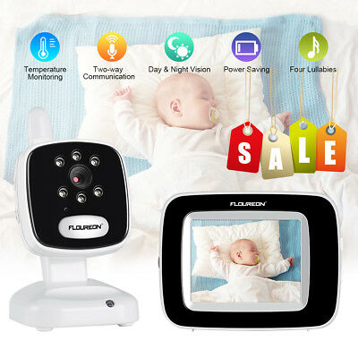 3.5″ Audio Video Baby Monitor Wireless Digital Camera Night Vision Safety Viewer