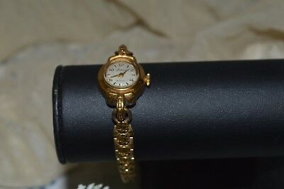 Old Watch D'orsay Woman/ Gold Plated 15 Ruby / In Working Order