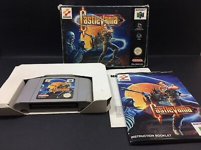 Castlevania - Nintendo 64 COMPLETE Boxed Game N64 PAL - CIB with Box & Manual