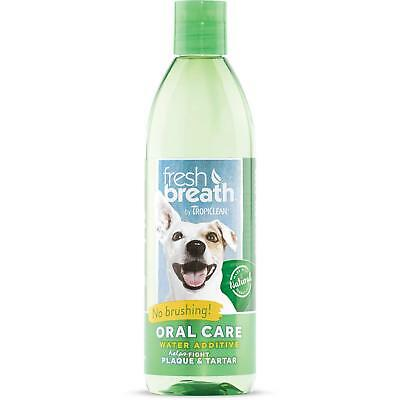 Tropiclean Fresh Breath Plaque Remover Pet Water Additive 16 oz - Pack of 1