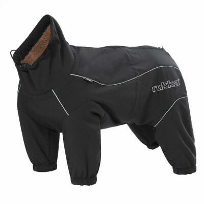 Rukka Pets Thermal Dog Overall Black Size 30