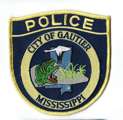 Gautier (Jackson County) MS Mississippi Police patch - NEW!
