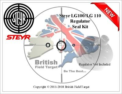 O RING SEAL Kit (Double Pack) for Steyr LG110 Air Rifle Ref: STY1