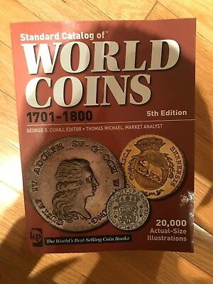 Standard Catalog of World Coins 1701-1800 by George S. Cuhaj ( Paperback)