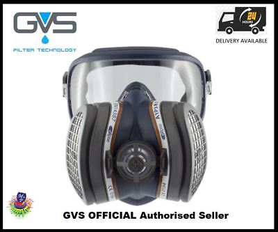 Gvs Elipse Integra A1P3 R D Respirator Mask With Eye Protection & Filters - M/L