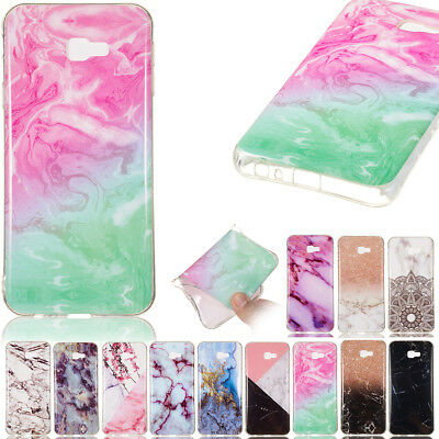 For Samsung Galaxy A9/A8/A7/A6 2018 J2pro  marble Pattern TPU phone case cover