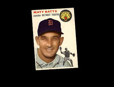 1954 Topps 88 Matt Batts EX #D836651