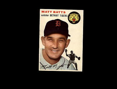 1954 Topps 88 Matt Batts EX #D836653