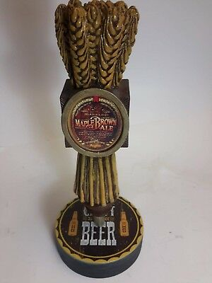 Michelob Maple Brown Ale Tap handle w/Display Base SN 710