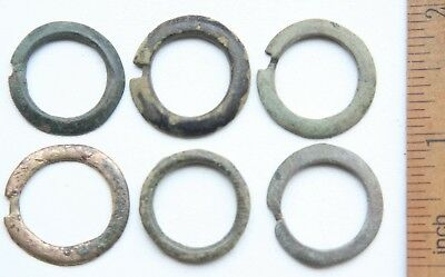 Group Of Ancient Old Bronze Fibula Brooch (NW03)