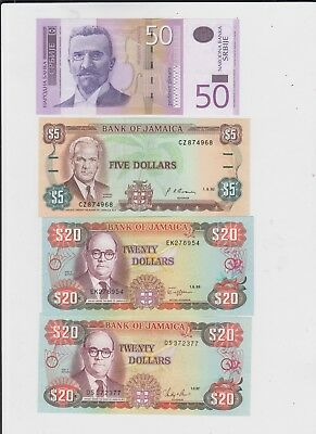 World collectiona of 12 uncirculated Banknotes