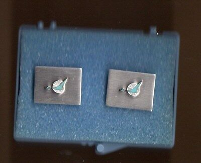 North Central Airlines Herman  Cuff Links 1960's Northwest Airlines Republic