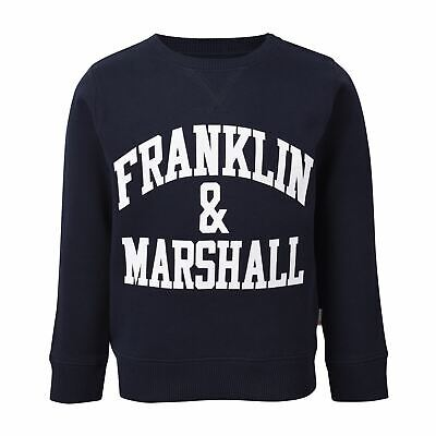 Franklin and Marshall Pullover Youngster Childrens Crew Jumper
