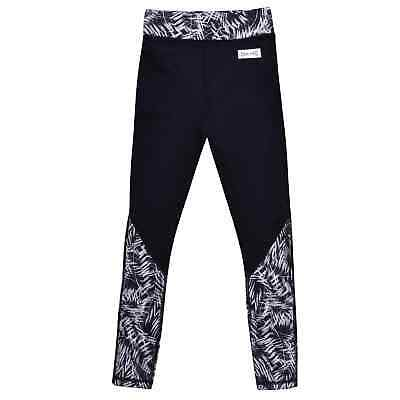 USA Pro LM Panel Tgt Girls Childrens Performance Tights Pants Trousers Bottoms