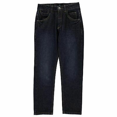 Firetrap Seven Pocket Jeans Youngster Childrens Straight Pants Trousers Bottoms