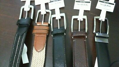 New Goodfellow & Co Men's Big and Tall Belts Assorted Styles Colors and Sizes