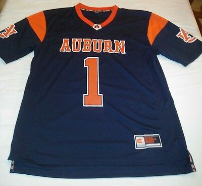 501e5f282a0 COLOSSEUM AUBURN TIGERS Blue Short Sleeve Hoodie Womens Medium ...