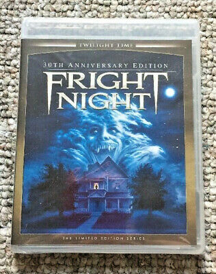 Fright Night (1985) (Blu-ray Disc, 30th Anniversary Edition, Twilight Time) OOP!