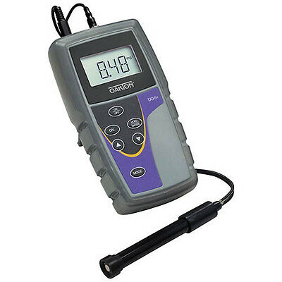Oakton WD-35643-13 DO 6 Dissolved Oxygen Meter with probe & NIST
