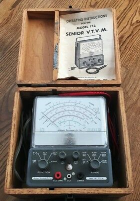 Accurate Instrument Co. - Senior VTVM Voltmeater, Model 152 - Vintage