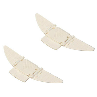 2X(2x Angel Wings Closed Closure Security Door Window Plastic Pr Youth Baby V9E1