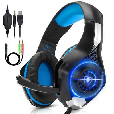 Overear Gaming Headset for PS4, Xbox One