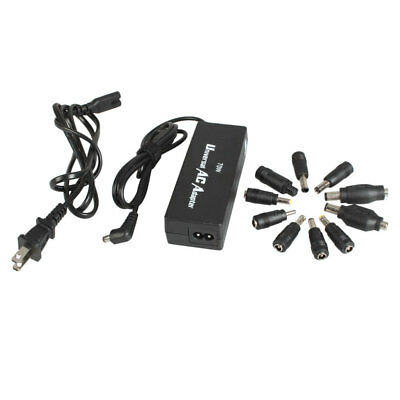 10 Tips 70W MAX Universal Power Supply Charger AC Adapter Laptop Multi Notebook