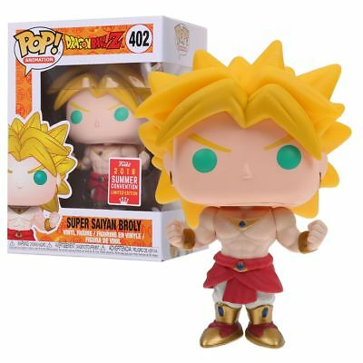 Funko Pop Dragon Ball Z Super Saiyan Broly SDCC 2018 PVC Action Figure jouets