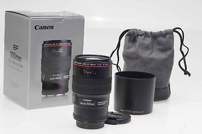 Canon EF 100mm f2.8 L IS Macro USM Lens 100/2.8                             #118