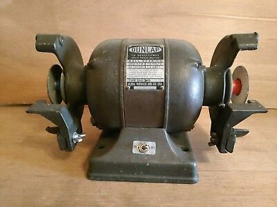 Pleasant Vintage Sears Dunlap No 115 7221 1 4 Hp 6 Bench Grinder Gmtry Best Dining Table And Chair Ideas Images Gmtryco