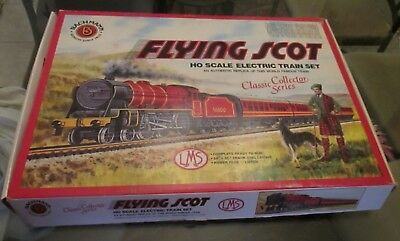 new Bachmann LMS HO scale electric train set The Flying Scot